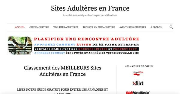 places libertin site adultere entierement gratuit